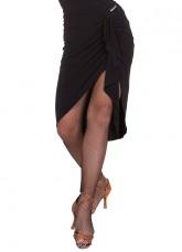 Юбка женская Латина ЮЛ236-14 Dance.me, Украина, масло, черный