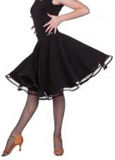 Юбка женская Латина ЮЛ402-14 Dance.me, масло, черный