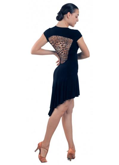 Dance Me Платье женское ПЛ71-2, масло / сетка, лео
