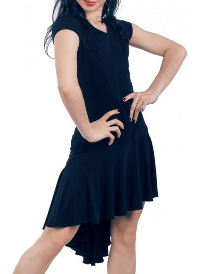 Dance Me Платье женское ПЛ71, масло / сетка, черный
