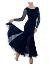 Dance Me Платье женское ПС178-Кри, масло / сетка, черный