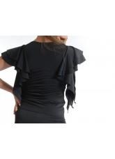 Dance Me Блуза женская БЛ24, масло, черный