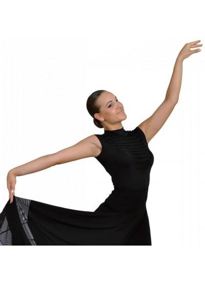 Dance Me Блуза женская БЛ104, масло, черный