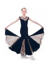Dance Me Блуза женская БЛ105-2, масло / сетка, лео