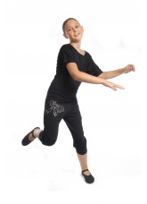 Dance Me Футболка для взрослых, черный