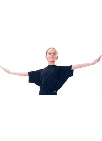 Dance Me Блуза детская БЛ2, масло / черный