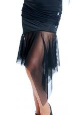 Dance Me Юбка для девочки ЮЛ21, сетка, черный