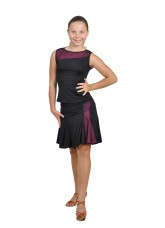 Dance Me Блуза детская БЛ119-2, масло / сетка, розовый