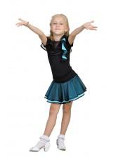 Dance Me Юбка для девочки ЮЛ51, масло, голубой