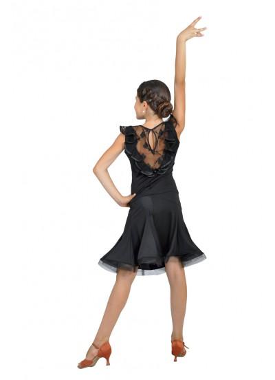 Dance Me Юбка для девочки ЮЛ131-3Кри, масло, серый