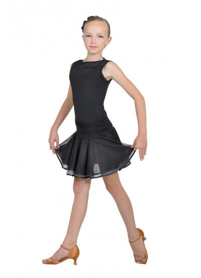 Dance Me Юбка для девочки ЮЛ51, масло, серый