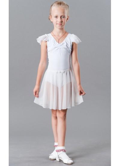 Dance Me Юбка детская ЮХ54-3, сетка, белый