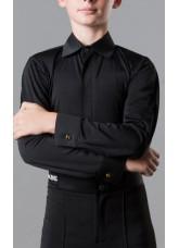 Dance Me Рубашка детская РЛ73, черный
