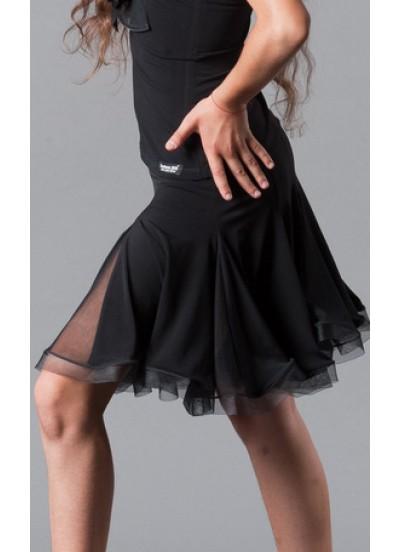 Юбка для латины Dance Me ЮЛ76-СР-14 детская