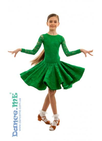 Бейсик Кринолин Dance Me 269-274-11, зеленый