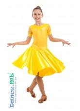 Dance Me Рейтинговые платья / Бейсик 319КР-371 кринолин, золотой