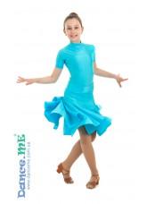 Dance Me Рейтинговые платья / Бейсик 388КР-372 кринолин, светло-голубой
