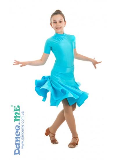 Бейсик Кринолин Dance Me 388КР-372, светло-голубой