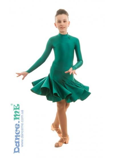 Бейсик Кринолин Dance Me 388-372, малахит