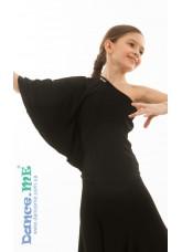 Dance Me Блуза детская БЛ294, масло, черный