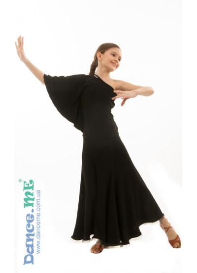 Детская юбка для стандарта Dance Me ЮС341-Кри
