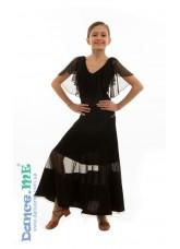Dance Me Юбка для девочки ЮС358-Кри, масло / сетка, черный