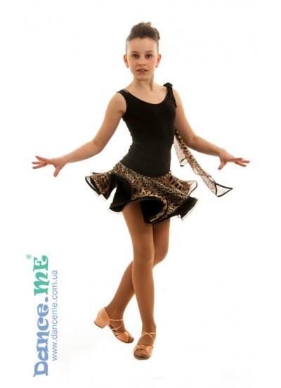 Детская юбка для латины ЮЛ52-Кри Dance Me