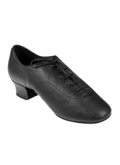 Мужские туфли для латины Eckse Фабио-флекси-TS, черный кожа