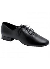 Eckse Обувь мужская для стандарта Оксфорд-флекси-Т, черный кожа