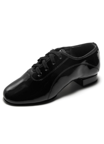 Dance Me Обувь для мальчика Флекси 0203 для стандарта, черный лак
