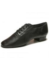 Dance Me Обувь мужская для стандарта Флекси 0203, черная кожа