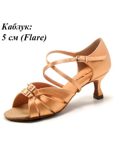 Dance Me Обувь женская для латины 0505, 2-кедр сатин