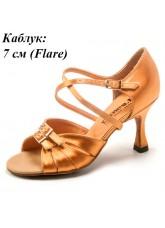 Dance Me Обувь женская для латины 0705, 2-кедр сатин