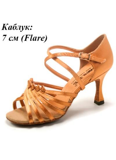 Dance Me Обувь женская для латины 0706, 2-кедр сатин