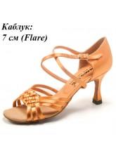 Dance Me Обувь женская для латины 0712, 2-кедр сатин
