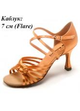 Dance Me Обувь женская для латины 0715, 2-кедр сатин
