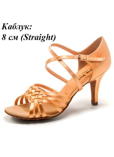 Женские туфли для латины DANCEME SALE 0812, флеш сатин