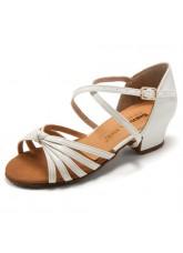 Dance Me Обувь для девочки БК 30233, лак белый