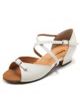 Dance Me Обувь детская БК 30261, лак белый