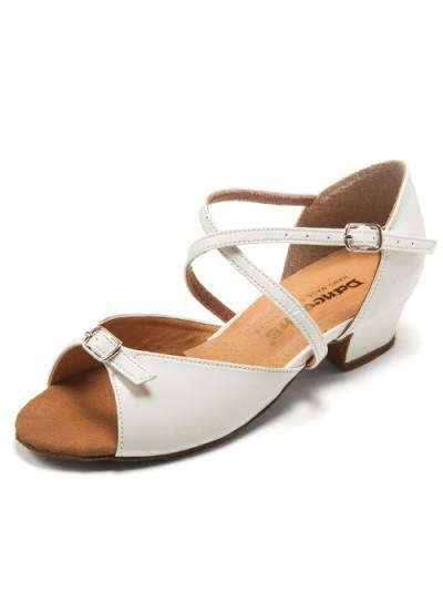 Туфли для девочки Dance Me БК 30261, белый лак