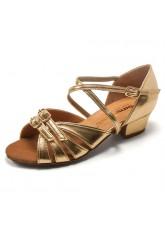 Dance Me Обувь детская БК 30310, золото, кожа искусственная