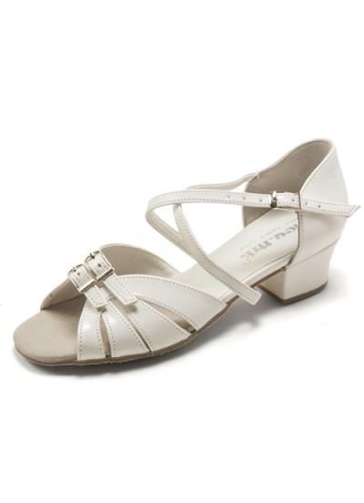 Dance Me Обувь для девочки БК 2003, лак белый