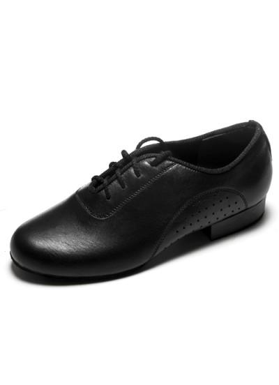 Детская танцевальная обувь для стандарта Dance Me 36040, черная кожа