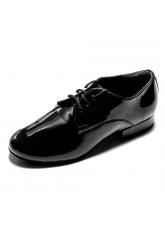 Dance Me Обувь для мальчика 36160, для стандарта, черный лак