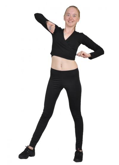 Dance Me Болеро детское рукав длинный Болеро95, хлопок, черный