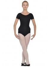 Dance Me Купальник женский ККР2, рукав короткий, хлопок, черный