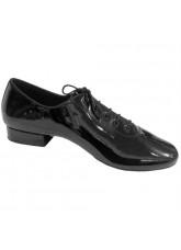 Eckse Обувь мужская для стандарта Оксфорд-флекси-Т, черный лак