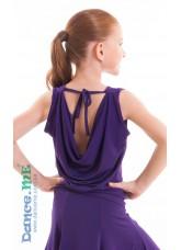 Dance Me Блуза детская БЛ165, масло, фиолетовый