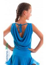 Dance Me Блуза детская БЛ165, масло, голубой