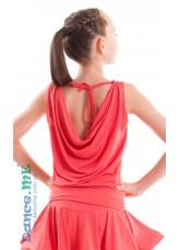Dance Me Блуза детская БЛ165, масло, коралл